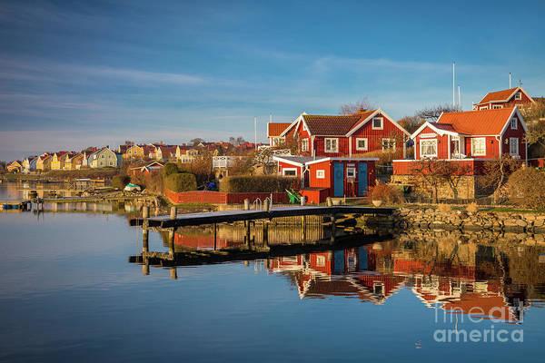 Sverige Photograph - Brandaholm Reflections by Inge Johnsson
