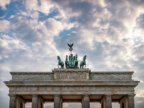 Photograph - Brandenburg Gate by Framing Places