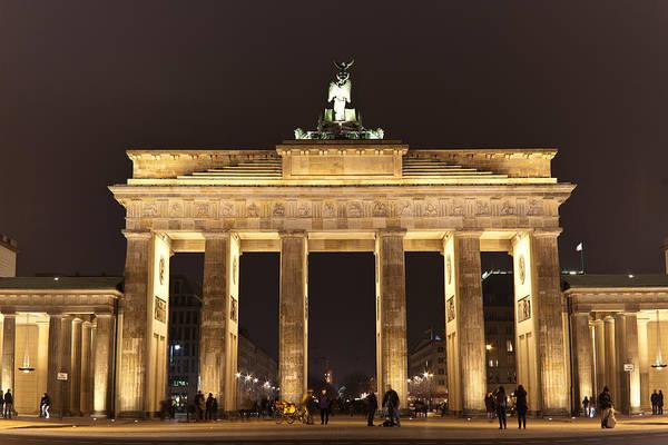 Brandenburg Gate Photograph - Brandenburg Gate by Mike Reid