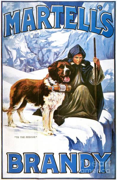 Painting - Brandy Advertisement, 1910 by Granger