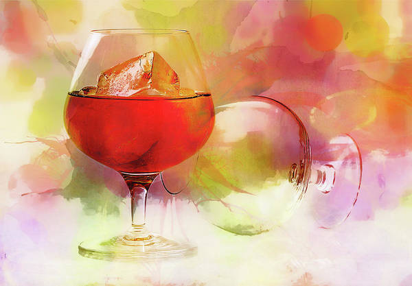 Mixed Media - Brandy On A Whimsy by Isabella Howard