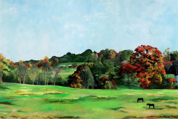Painting - Beaver Valley by Melinda Blackman