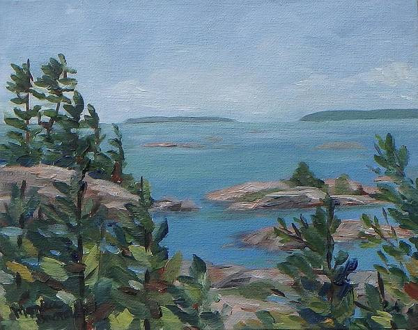 Painting - Bras Collins Inlet, Killarney by Monica Ironside