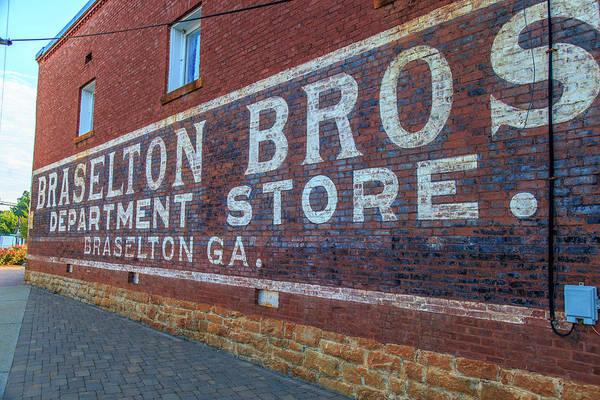 Photograph - Braselton Bros, Inc Sign by Doug Camara