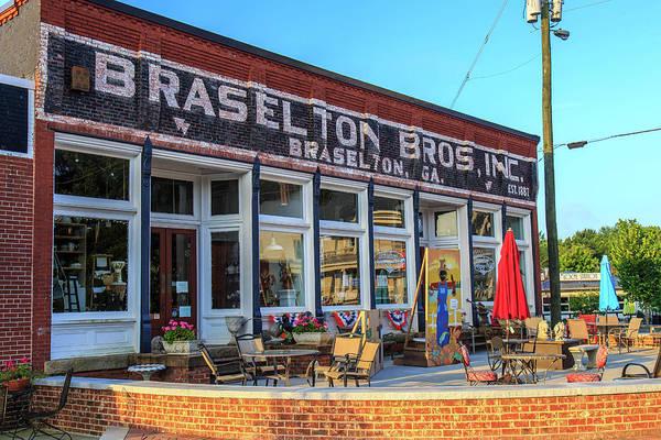 Photograph - Braselton Bros Inc. Store Front by Doug Camara