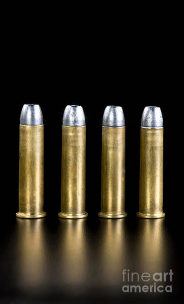 Full Metal Jacket Wall Art - Photograph - Brass And Lead Bullets. by W Scott McGill