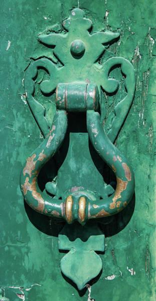 Photograph - Brass Door Handle by David Letts