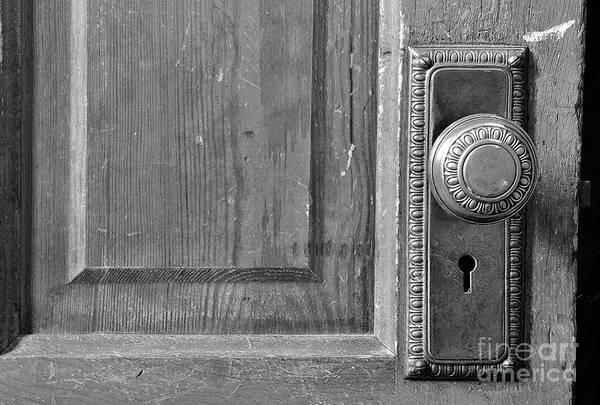 Code Talkers Photograph - Brass Door Knob by Debby Pueschel
