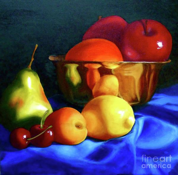 Painting - Brass Ensemble by Susan A Becker