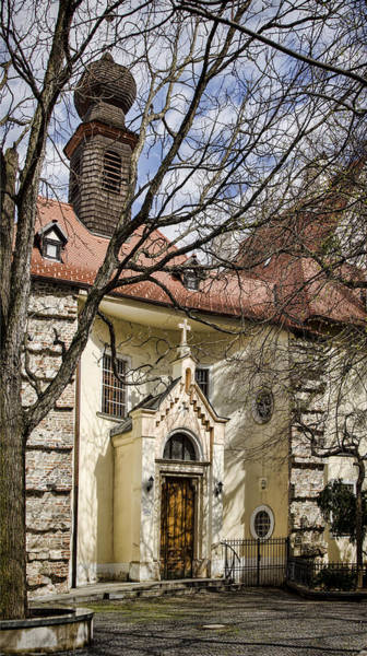 Wall Art - Photograph - Bratislava Chapel by Heather Applegate
