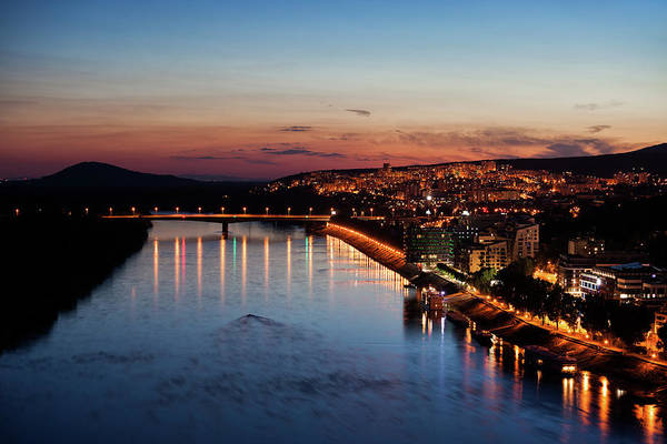 Bratislava Photograph - Bratislava City At Dusk by Artur Bogacki