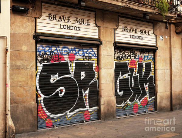 Photograph - Brave Soul In Barcelona by John Rizzuto