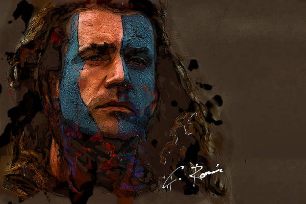 Painting - Braveheart by Charlie Roman