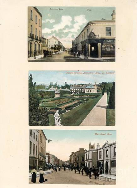 Photograph - Bray Post Cards, C. 1900 by Val Byrne