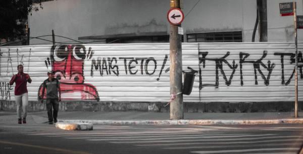 Photograph - Brazilian Graffiti by Ross Henton