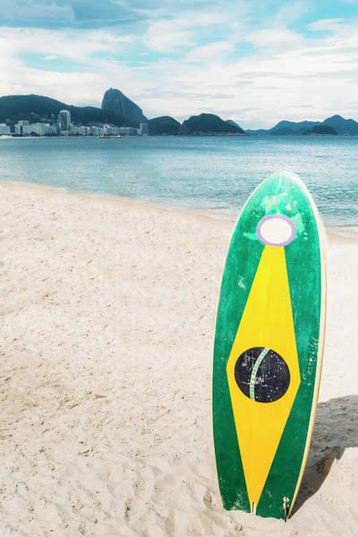Brazilian Standup Paddle Art Print