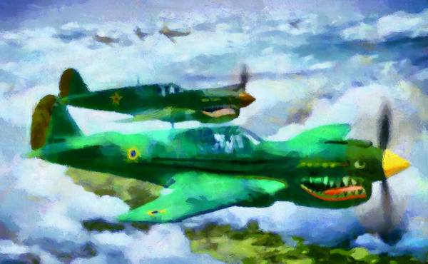 Digital Art - Brazilians In Wwii by Caito Junqueira