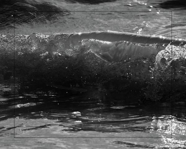 Nikon D5000 Photograph - Breach Inlet Morning Waves 1 by Melissa Wyatt