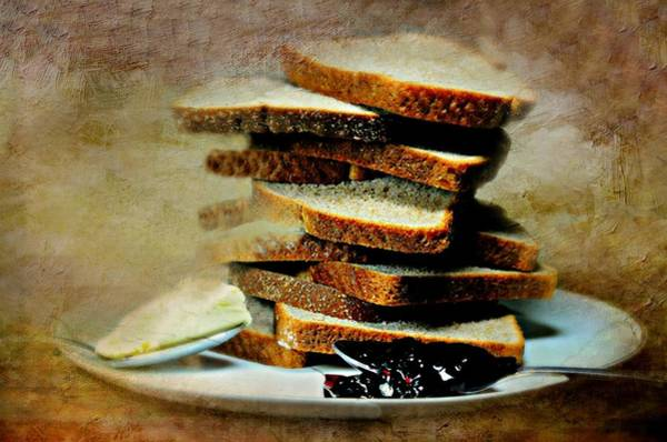 Wall Art - Photograph - Bread Butter And Jelly by Diana Angstadt