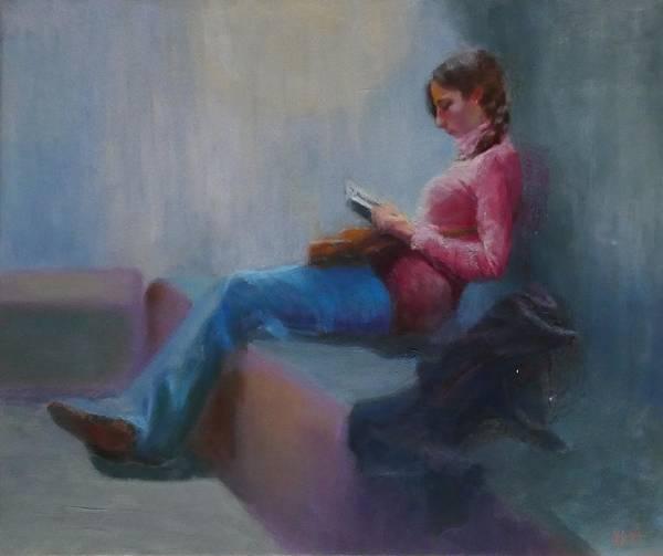 Painting - Break At Museum by Irena Jablonski