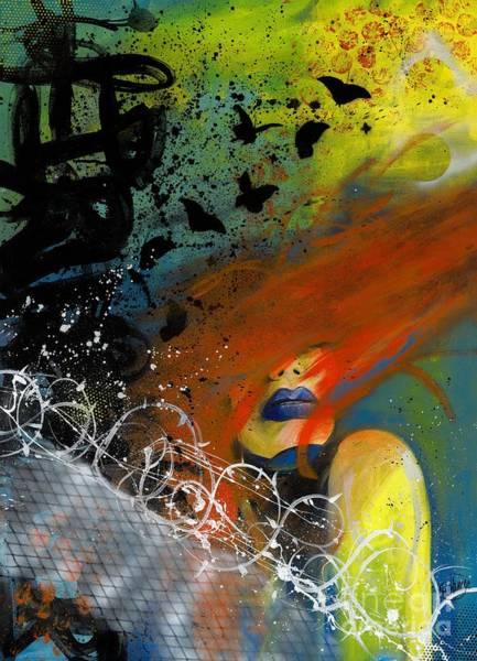 Wall Art - Painting - Break Free by Aramis Hamer