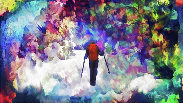 Digital Art - Break Your Own Trail by Jo-Anne Gazo-McKim