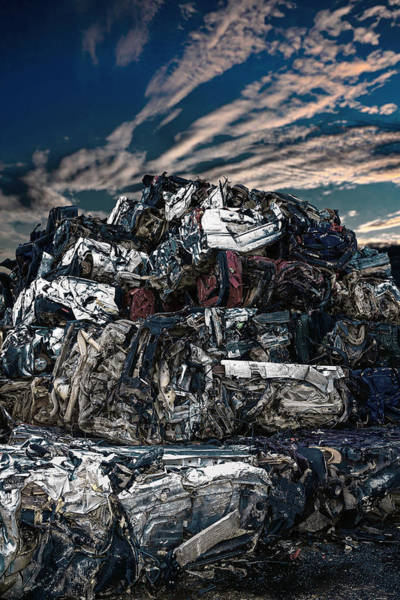Wrecking Yard Photograph - Breakage by Fbmovercrafts