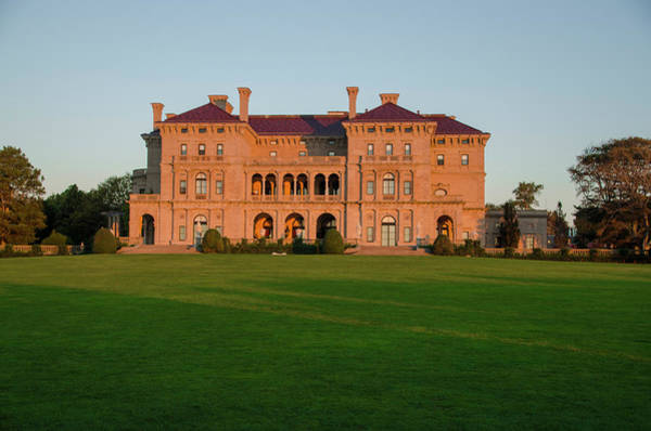Photograph - Breakers Mansion Newport Rhode Island by Bill Cannon
