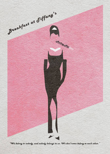 Stained Digital Art - Breakfast At Tiffany's by Inspirowl Design
