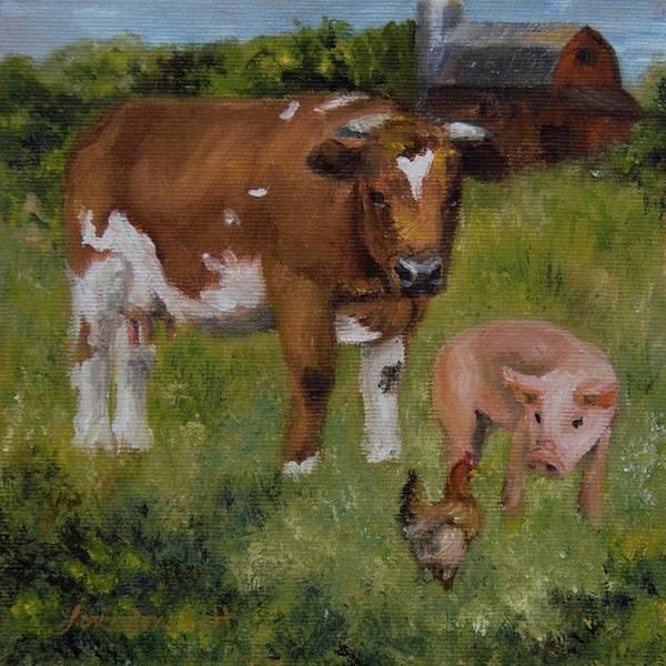 Painting - Breakfast In The Raw by Lori Brackett