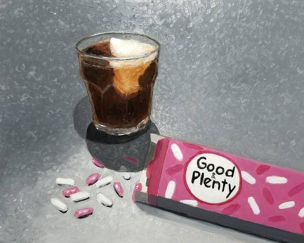 Soda Pop Painting - Breakfast Of Champions by Karyn Robinson