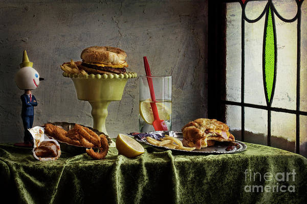 Photograph - Breakfast With Jack by Elena Nosyreva