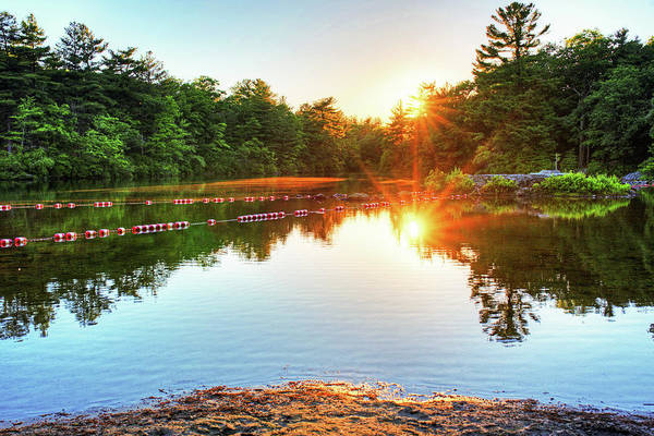 Photograph - Breakheart Reservation Sunset Saugus Ma by Toby McGuire
