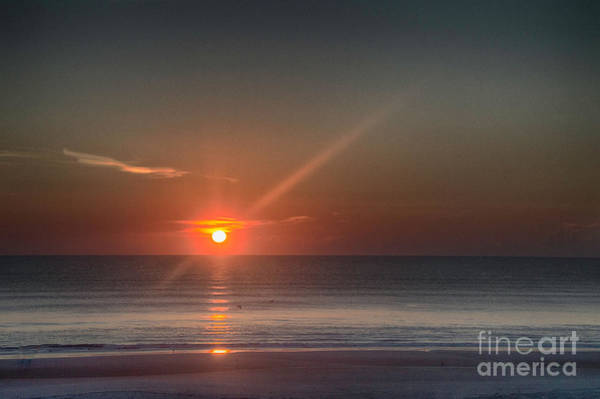 Photograph - Breaking Dawn Daytona Beach by Judy Hall-Folde