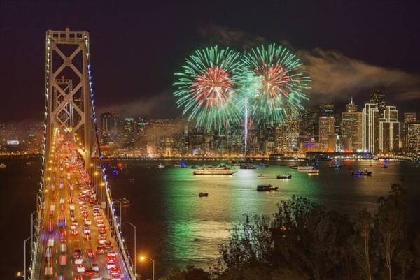 Photograph - Breaking Rules On New Year's Eve by Quality HDR Photography