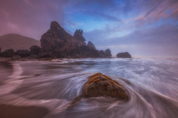 Photograph - Breaking Up In Brookings by Darren  White