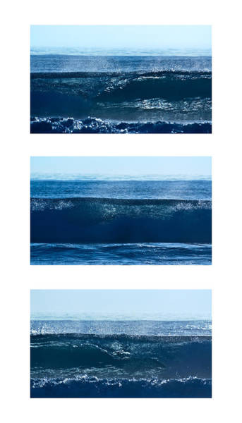 Photograph - Breaking Wave Closeup Collage by Alexander Kunz