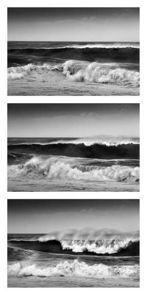 Photograph - Breaking Wave Triptych by Alexander Kunz