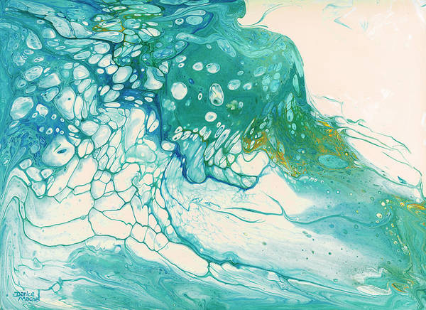 Painting - Breaking Waves by Darice Machel McGuire