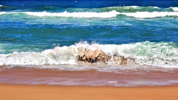 Photograph - Breaking Waves by Jeremy Hayden