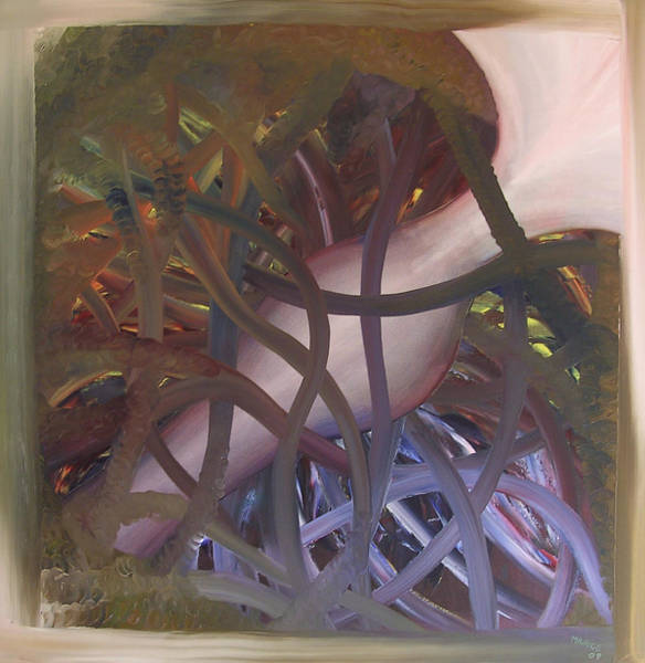 Entangled Painting - Breakthrough by Maurice Noble