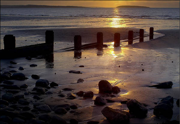 Photograph - Breakwater At Penmaenmawr by Peter OReilly