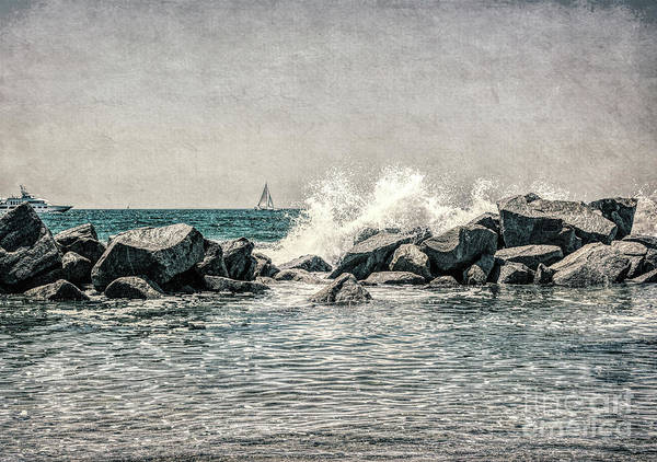 Photograph - Breakwater by Joe Lach