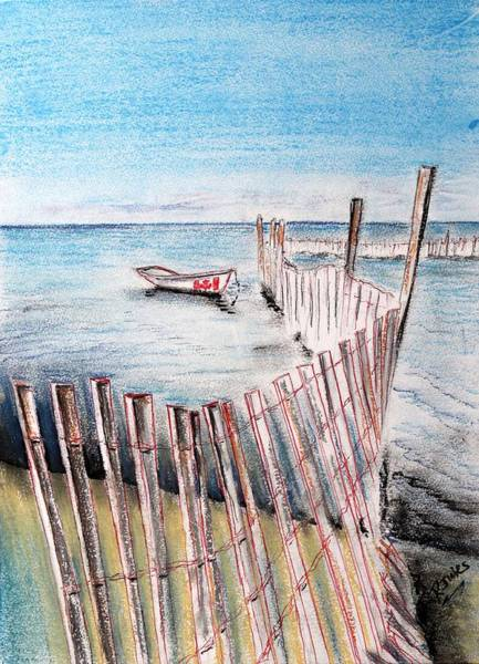 Painting - Breakwater by Richard Jules