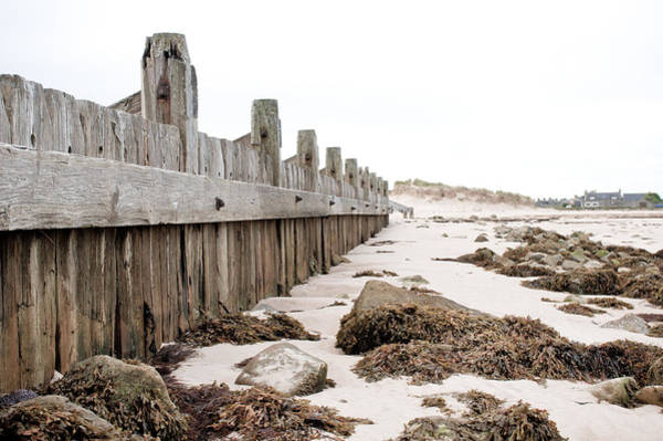 Barrier Photograph - Breakwater by Tom Gowanlock