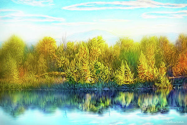 Digital Art - Breath Of Autumn Dream by Joel Bruce Wallach