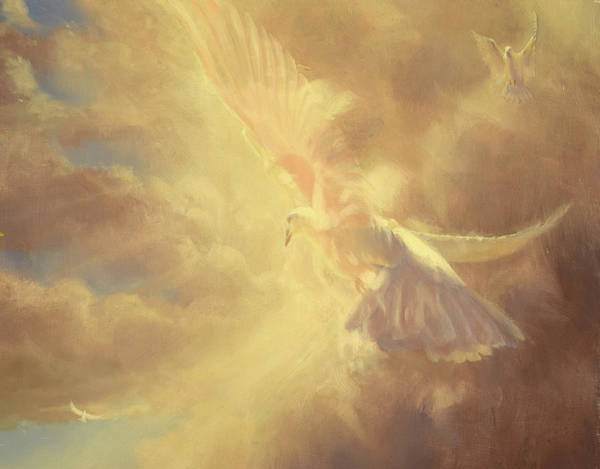 Holy Spirit Painting - Breath Of Life by Graham Braddock
