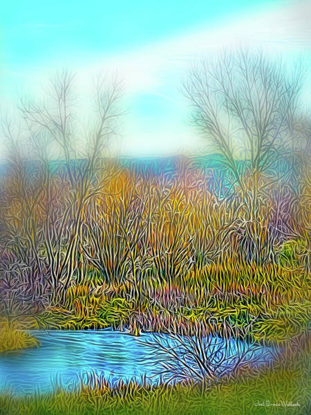 Digital Art - Breath Of Peace by Joel Bruce Wallach