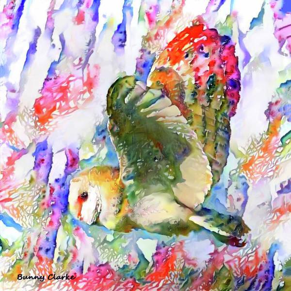 Wall Art - Digital Art - Breath Of Spring by Bunny Clarke