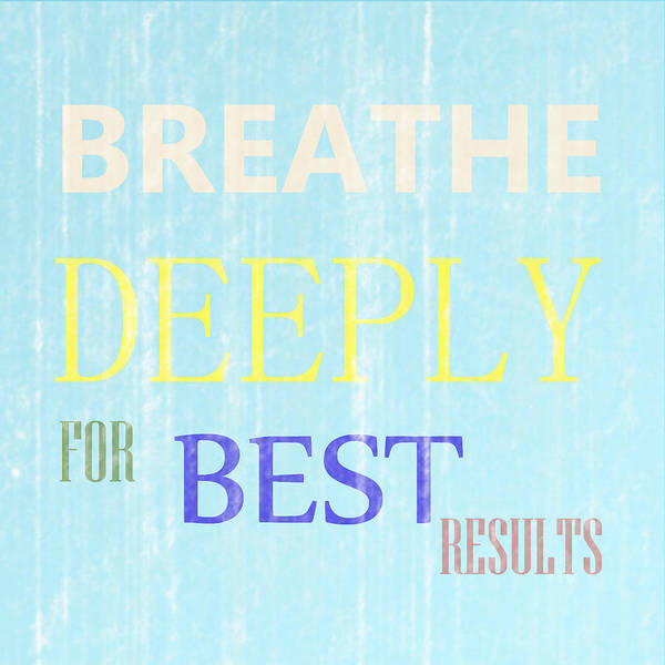 Photograph - Breathe Deeply by Richard Reeve